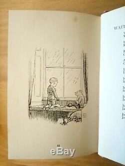 1927 Première Édition Maintenant Nous Six Par A A Milne. Winnie L'ourson. Imprimer 1st / 2eme