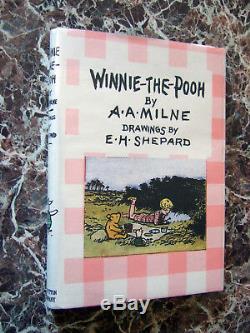 1927 Winnie L'ourson, A. A. Milne, Début Édition, Première Forme