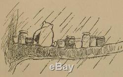 1929 Édition Winnie L'ourson Ours En Peluche Premier Format Enfant A A Milne Disney Rare