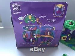 1998: Pochette De Winnie L'ourson Polly Pocket Et Jeux De Bois De 100 Acres Complète