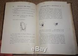 1er Ed 'winnie L'ourson Par A A Milne Illustré Par E Shepard Imprimé 1926