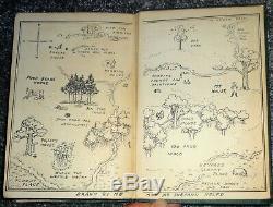 1ère Édition 'winnie L'ourson, De A. A. Milne, Illustrée Par E. Shepard, Imprimée En 1926