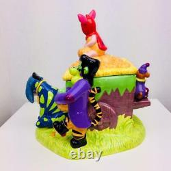 2000 Vintage Disney Winnie Le Pooh & Amis Halloween Cookie Jar Avec Son