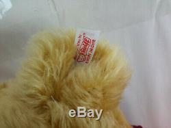2004 Steiff Growler Winnie L'ourson 20 Ours Limited Edition Avec Des Étiquettes 680298