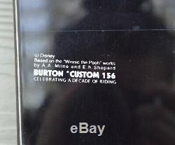 2005 Vintage Burton Japon Disney Winnie L'ourson Snowboard Personnalisé 1200 $ 156cm