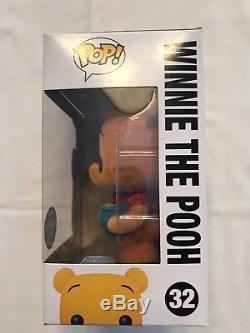 2012 Sdcc Exclue Disney Funko Pop! # 32 Winnie L'ourson (floqué) Le 480