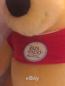 2017 Steiff Winnie The Pooh D23 Expo Le 23 Edition Limitée 6 Sur 23