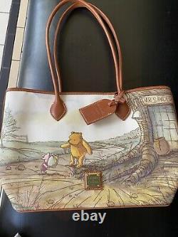 2020 Disney Parks Dooney & Bourke Winnie The Pooh Tote Sac À Main Nouveau