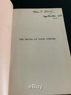 3 Livres De Winnie The Pooh 1ère / 1ère Édition Deluxe 1926 1928 A A Milne House Corner