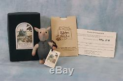 3 R. John Wright Dolls Pocket Piglet Winnie The Pooh Série 1994 Menthe En Boîte