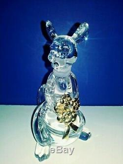 8 Retraité Disney Lenox Winnie L'ourson En Cristal Figurines, Retraité 2004 M / C