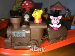 80 Vtg Winnie L'ourson 100 Acre Woods Play Set Complet Spectra Disney Sears