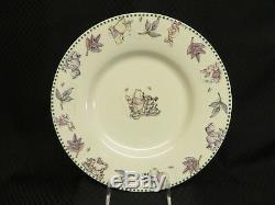 8pc Disney Winnie The Pooh Dîners De Caractère Assiettes En Porcelaine Et Bols Pour 4