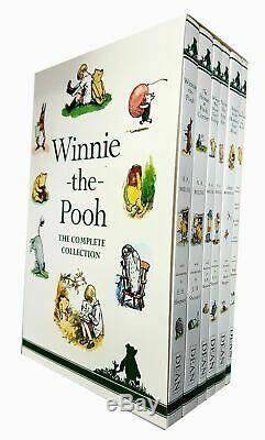 A. A. Milne Winnie L'ourson Collection Fiction Complete Set 6 Livres Box Nouveau