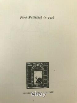 A. A. Milne Winnie The Pooh First Uk Edition 1926 1er Hardback Book