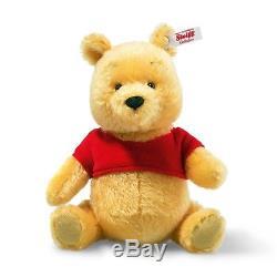 À La Recherche Du Nouveau Steiff Winnie The Pooh Nous Pouvons Vous Aider! Ean 015199, Taille De 8 Pouces