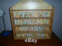 Alphabet Classique Winnie L'ourson Disney Michel & Company Complete