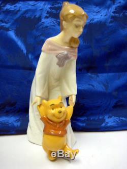 Amusez-vous Avec Winnie L'ourson Disney 2012 Figurine En Porcelaine Nao Par Lladro 1593