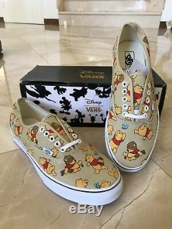 Authentic Disney Winnie L'ourson Vans Taille 11 Pour Hommes