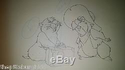 Awesome Walt Disney Production Cel Les Nouvelles Aventures De Winnie L'ourson