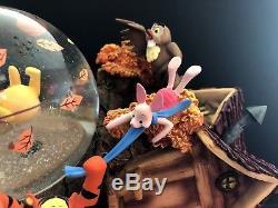 Boîte À Musique Winnie L'ourson Disney Winnie L'ourson Snowglobe Collectiable