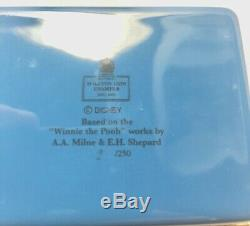 Boîte Émaillée Halcyon Days Winnie L'ourson Et L'arbre Magique N ° 2 Sur 250 Ellenshaw