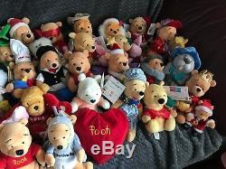 Bonnet En Peluche Disney Winnie The Pooh, Collection Nounours X89, Tout En Vgc