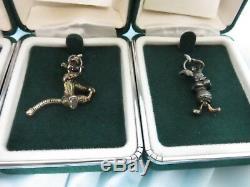 Bracelet À Breloques En Argent Sterling Avec 6 Breloques Winnie L'ourson Et 5 Autres