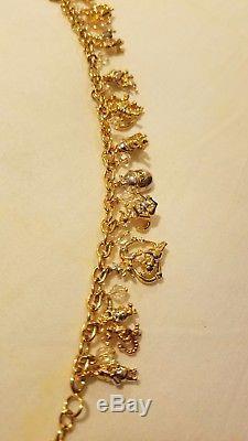 Bracelet À Breloques Winnie L'ourson Bradford Exchange / Fabriqué À La Main