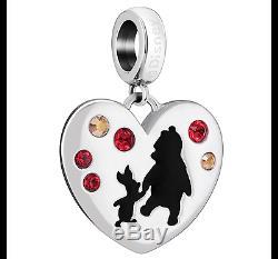 Chamilia Collection Disney Winnie L'ourson 5 X Charms / Beads Genuine Et Bnib