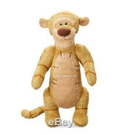Christopher Robin Ensemble De 5 Peluches + Sac À Main Pooh-tigger-eeyore-porcinet-koo