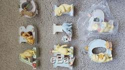 Classic Pooh Ensemble Complet De 26 Winnie The Pooh Alphabet Letters Michel Company
