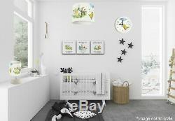 Classique Winnie L'ourson (103) Nursery Set, Lampe, Abat-jour Horloge Impressions Sur Toile