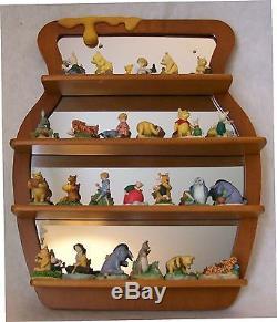 Collection Disney Disney Lenox Winnie The Pooh, Ensemble Complet Avec Étagère En Miroir