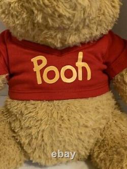 Construire Un Ours 2020 Winnie L'ourson Withred Shirt, Hunny Pot, Son. Épuisé