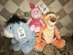 Construire Un Ours Farci Disney Winnie L'ourson Eeyore Tigger Porcelet Avecsound Pâques