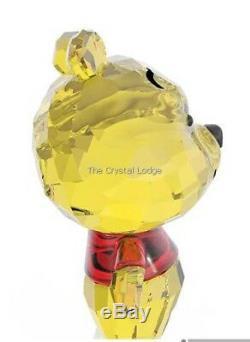 Cristal De Swarovski Disney Cutie Winnie L'ourson 5004737 Menthe En Boîte Retraité Rare