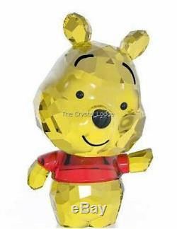 Cristal Swarovski Disney Cutie Winnie L'ourson 5004737 Mint Boxed Retraite Rare