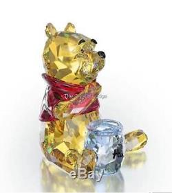 Cristal Swarovski Disney Winnie L'ourson 1142889 Menthe Boxed Retired Rare