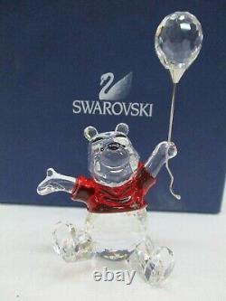 Cristal Swarovski Disney Winnie L'ourson Avec Le Ballon 905768 Retraité