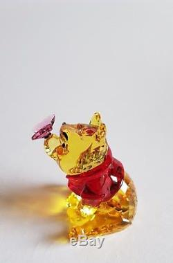 Cristal Swarovski, Winnie L'ourson Avec L'art Du Papillon No 5282928