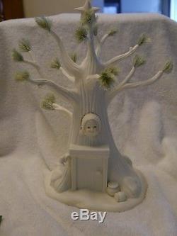 Dept 56 Snowbabies Une Porcelaine De Noël Pooh Très Winnie L'ourson Winnie L'ourson Nib