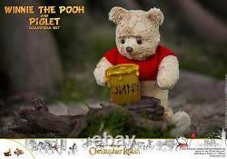 Dhl Hot Toys Christopher Robin Mms503 Winnie The Pooh & Piglet Set Figure