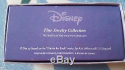 Disney 14k Winnie L'ourson Charme En Or Et Émail Bijou D'enfant Bracelet Yuzu