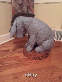 Disney 75th Anniversary Winnie The Pooh Set 4 Statues Tiger Eeyore Pooh Piglet