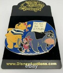 Disney Auctions Winnie Poo Porcinet Bourriquet Fête Halloween Party Le 100 Rare Htf