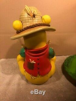 Disney Big Figure Figure Statue Winnie L'ourson Citrouille D'halloween Épouvantail