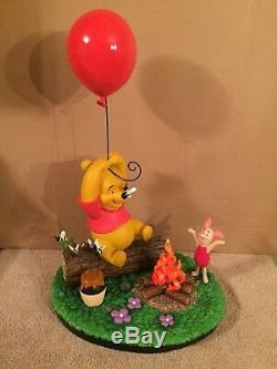 Disney Big Figure Figure Statue Winnie L'ourson Et Porcinet Figurine