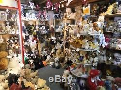 Disney Christopher Robin Winnie L'ourson Par Steiff Ean 355424