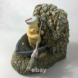 Disney Classic Winnie The Pooh Charpente Bookends Tigger Eeyore Piglet Vintage